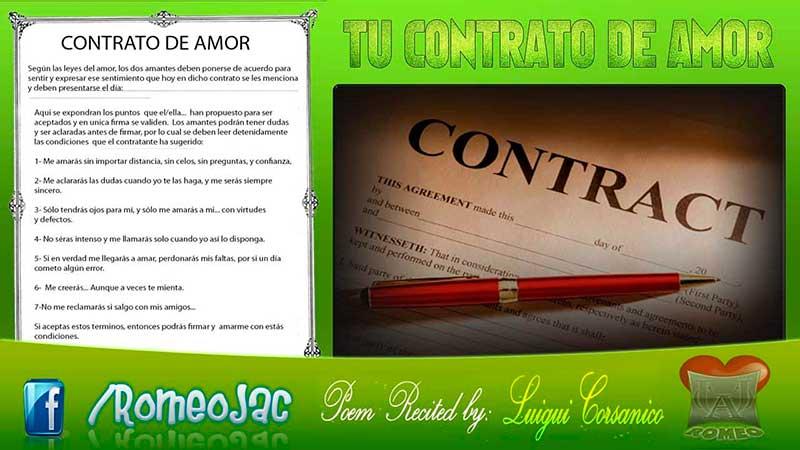 tu contrato de amor
